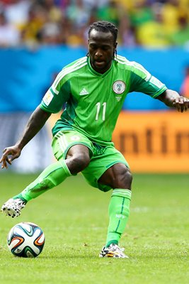 Victor Moses Nigeria 2014 World Cup