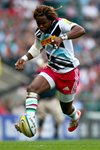 Marland Yarde Harlequins v London Irish Twickenham 2014 Prints