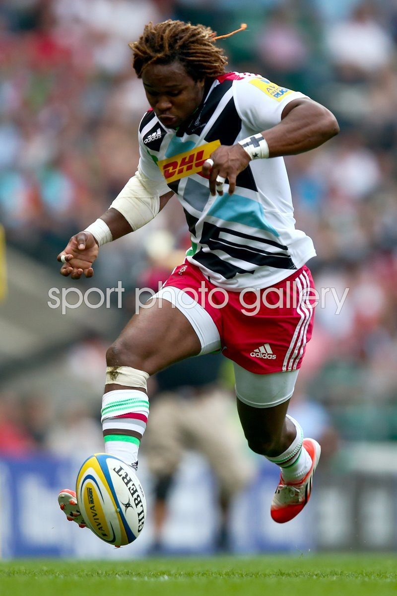 Marland Yarde Harlequins v London Irish Twickenham 2014