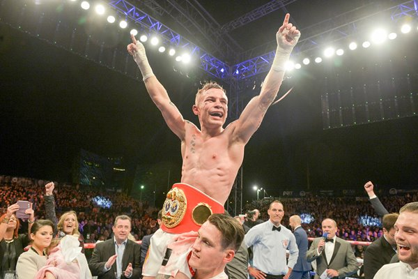 Carl Frampton IBF World Super Batntam Weight World Champion 2014