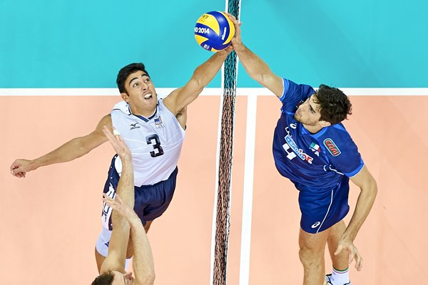 USA v Italy FIVB World Championships