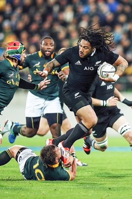 Ma'a Nonu New Zealand v South Africa Rugby Championship 2014