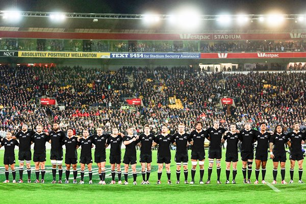New Zealand team v South Africa Rugby Championship 2014