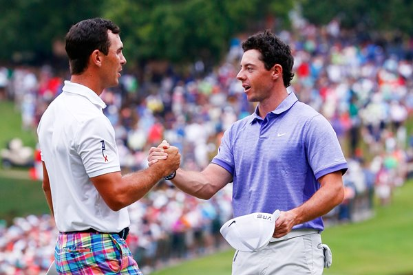 2014 star golfers Rory McIlroy & Billy Horschel