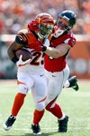 Kroy Biermann Falcons tackles Giovani Bernard Bengals Prints