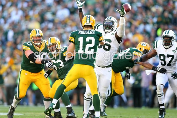 Wilkerson New York Jets v Green Bay Packers