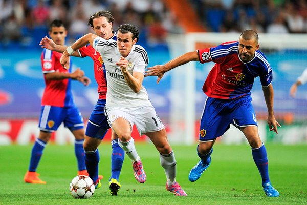 Gareth Bale of Real Madrid in action
