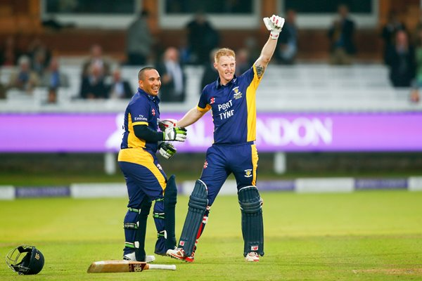 Ben Stokes & Gareth Breese One-Day Cup 2014 Final