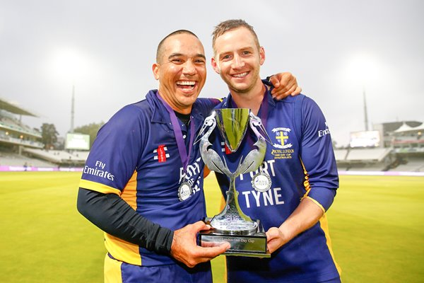 Gareth Breese & Mark Stoneman One-Day Cup 2014 Final
