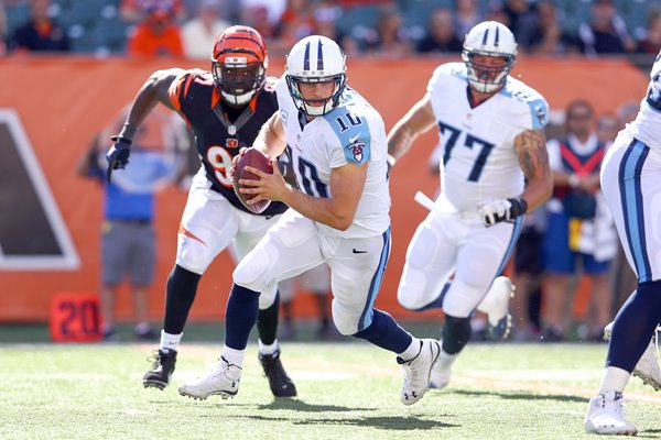 Jake Locker Titans v Bengals