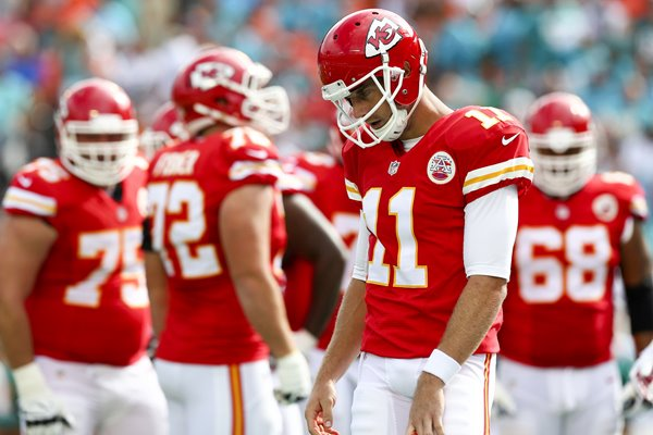 Alex Smith Chiefs v Dolphins