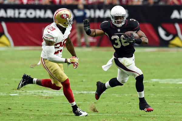 Chris Culliver 49ers v Andre Ellington Cardinals