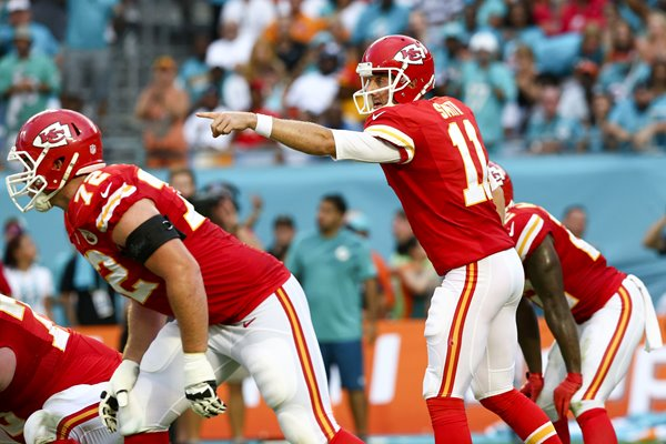 Alex Smith , Chiefs v Dolphins