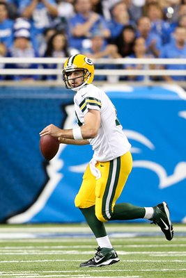 Aaron Rodgers Packers v Detroit Lions