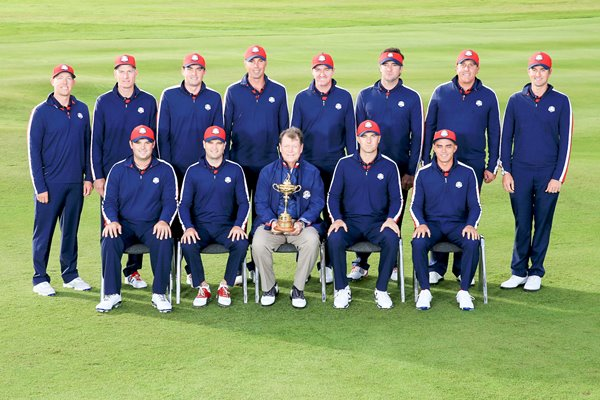 USA Team Photo 2014 Ryder Cup