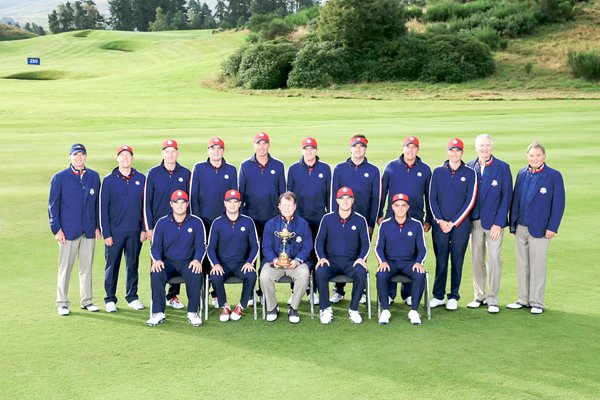 USA Team Photo with Vice Captains 2014 Ryder Cup
