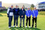 Phil Mickelson, Keegan Bradley, Rory McIlroy & Sergio Garcia Ryder Cup 2014 Canvas