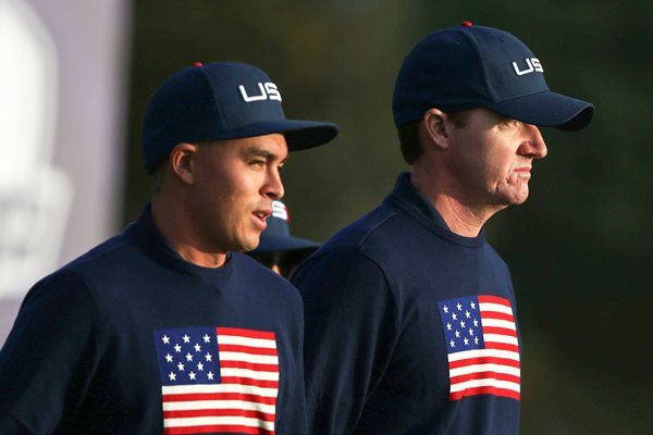 Jimmy Walker Rickie Fowler USA Ryder Cup 2014