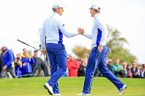 Henrik Stenson and Justin Rose 2014 Ryder Cup