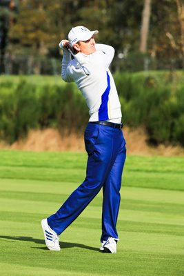 2014 European leading points scorer Justin Rose - 4.5 points