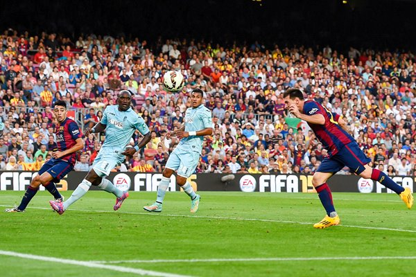Lionel Messi Barcelona 400th Career Goal