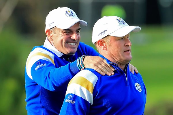 Paul McGinley Jamie Donaldson Winning Moment Ryder Cup 2014