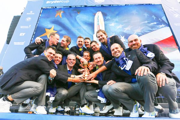 Europe 2014 Ryder Cup Winners Gleneagles