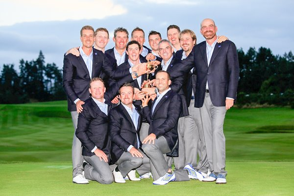 2014 Ryder Cup Winning European Team
