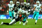 Lamar Miller Dolphins Wembley Stadium 2014 Mounts