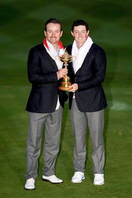 Graeme McDowell Rory McIlroy Northern Ireland 2014 Ryder Cup