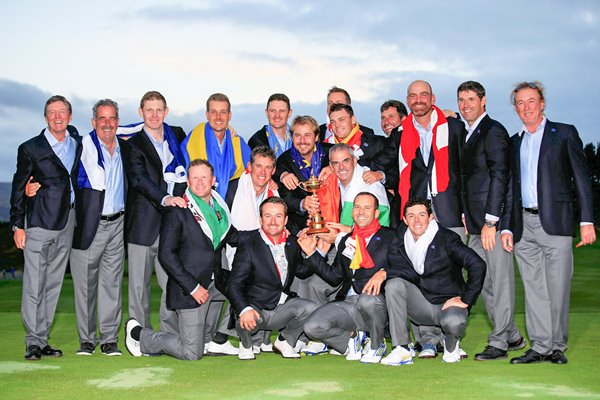European 2014 Ryder Cup Winners Gleneagles