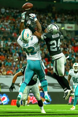 Charles Woodson Raiders & Dolphins Charles Clay Wembley