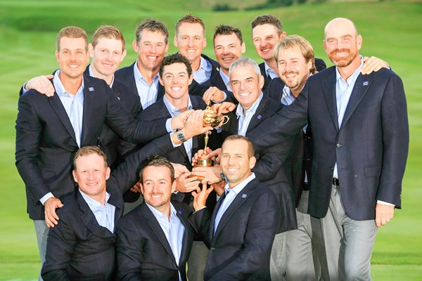 2014 Europe Ryder Cup Winners Gleneagles