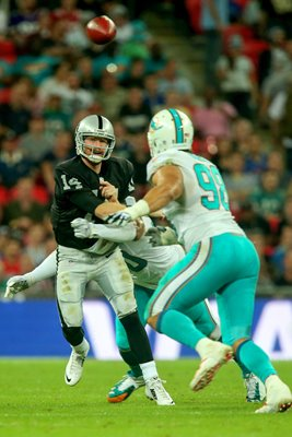 Matt McGloin Miami Dolphins Wembley Stadium 2014