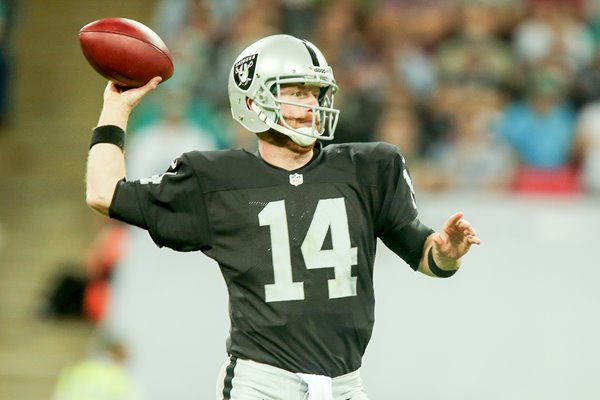 Matt McGloin Oakland Raiders Wembley Stadium 2014