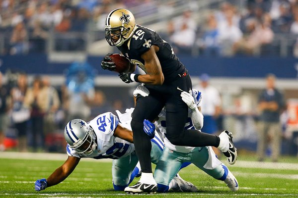 Marques Colston Saints v Cowboys 2014