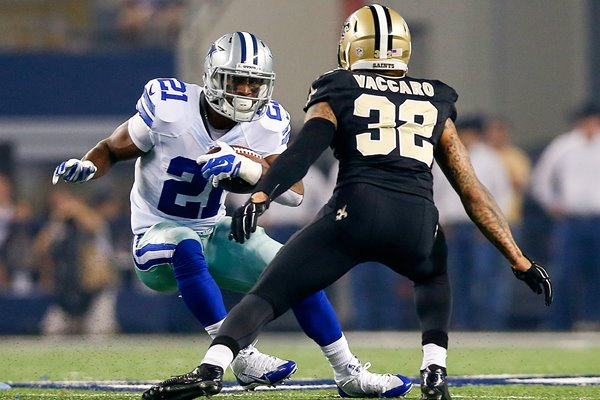 Kenny Vaccaro Saints v Joseph Randle Cowboys