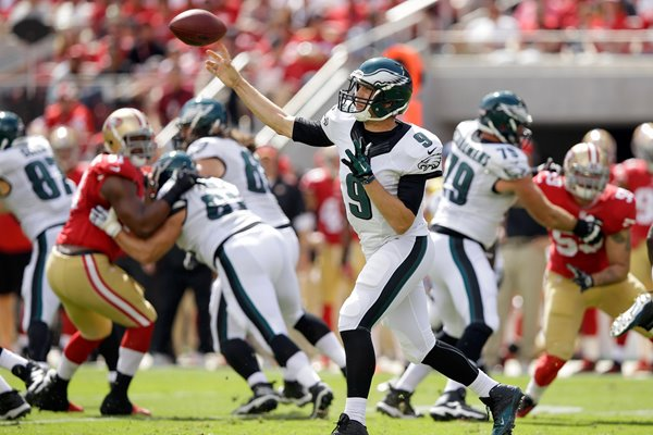 Nick Foles Philadelphia Eagles 2014