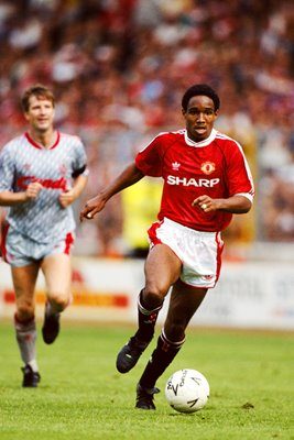 Paul Ince Manchester United v Liverpool Wembley 1990
