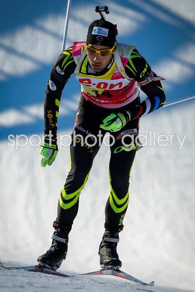 Martin Fourcade IBU World Cup Biathlon Annecy-Le Grand Bornand 2013