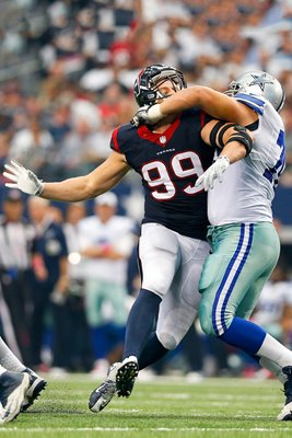 J.J. Watt Houston Texans v Zack Martin Dallas Cowboys