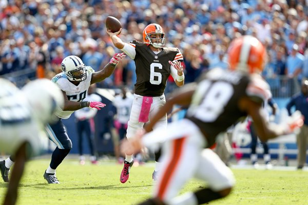 Brian Hoyer - Browns v Titans