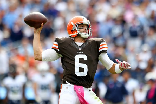 Brian Hoyer -  Browns v Titans 2014