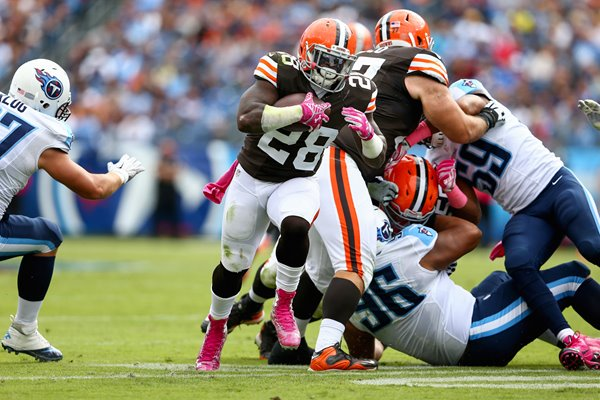 Terrance West - Browns v Titans