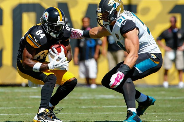 Antonio Brown - Steelers v Jaguars