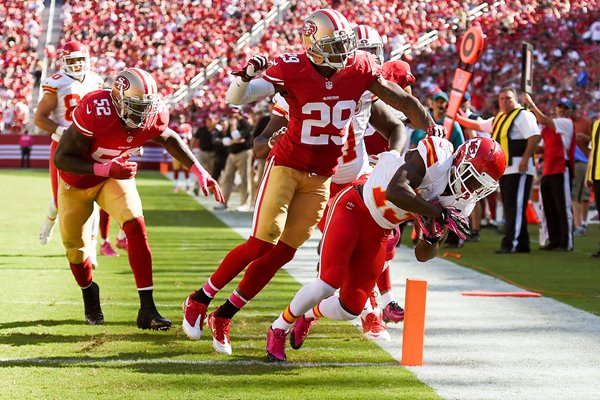 Stevie Johnson - Chiefs v 49ers 2014