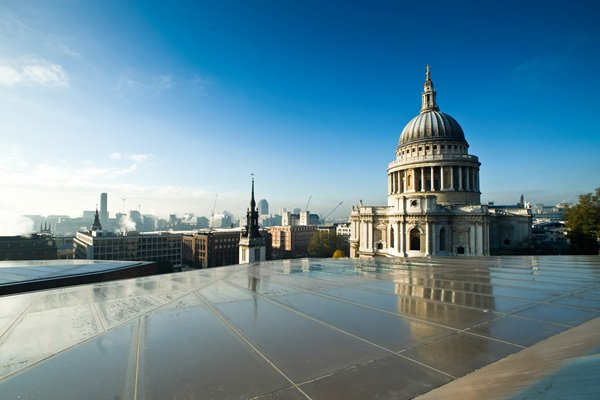 A general view of St Pauls Cathedral in London