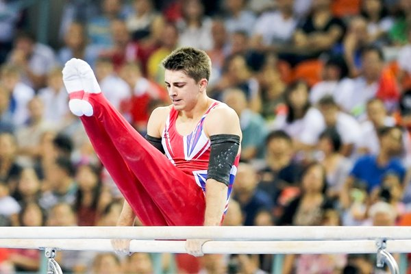 Max Whitlock Great Britain Parallel Bars China 2014