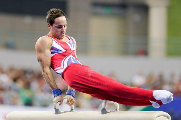 Daniel Keatings Mens Pommel Horse Final 2014