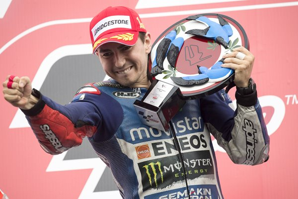 Jorge Lorenzo MotoGP of Japan Winner 2014